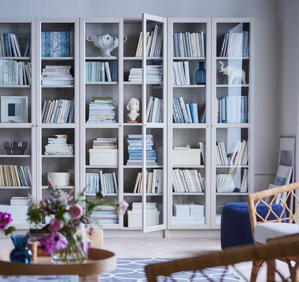 Offene Wohnzimmeraufbewahrung - Ideen - IKEA Deutschland