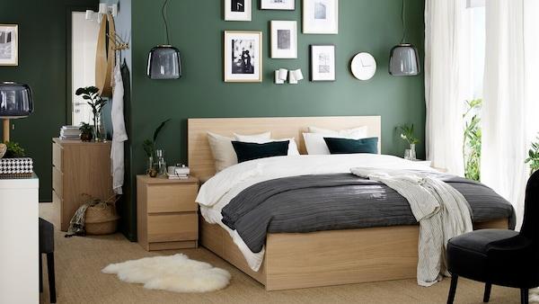 Tons de verde simples e descontraídos