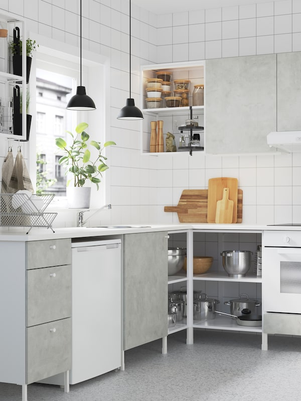 Uno strumento di progettazione che ti aiuta a configurare e pianificare la tua cucina ENHET.
