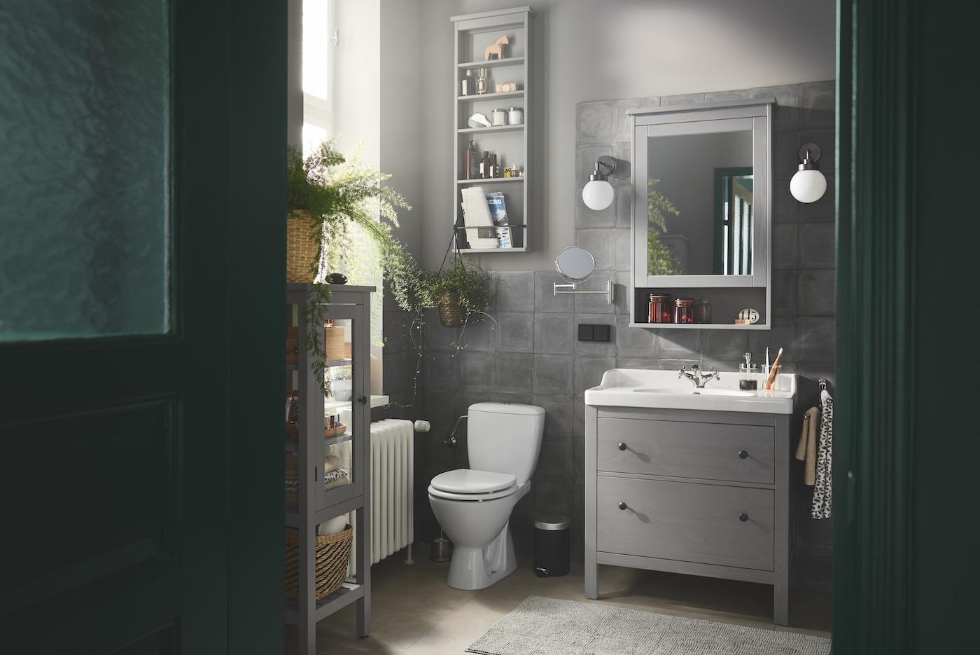 Kleines Badezimmer mit komfortabler Aufbewahrung   IKEA Deutschland