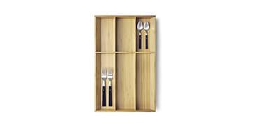 Aménagements intérieurs pour tiroir de cuisine
