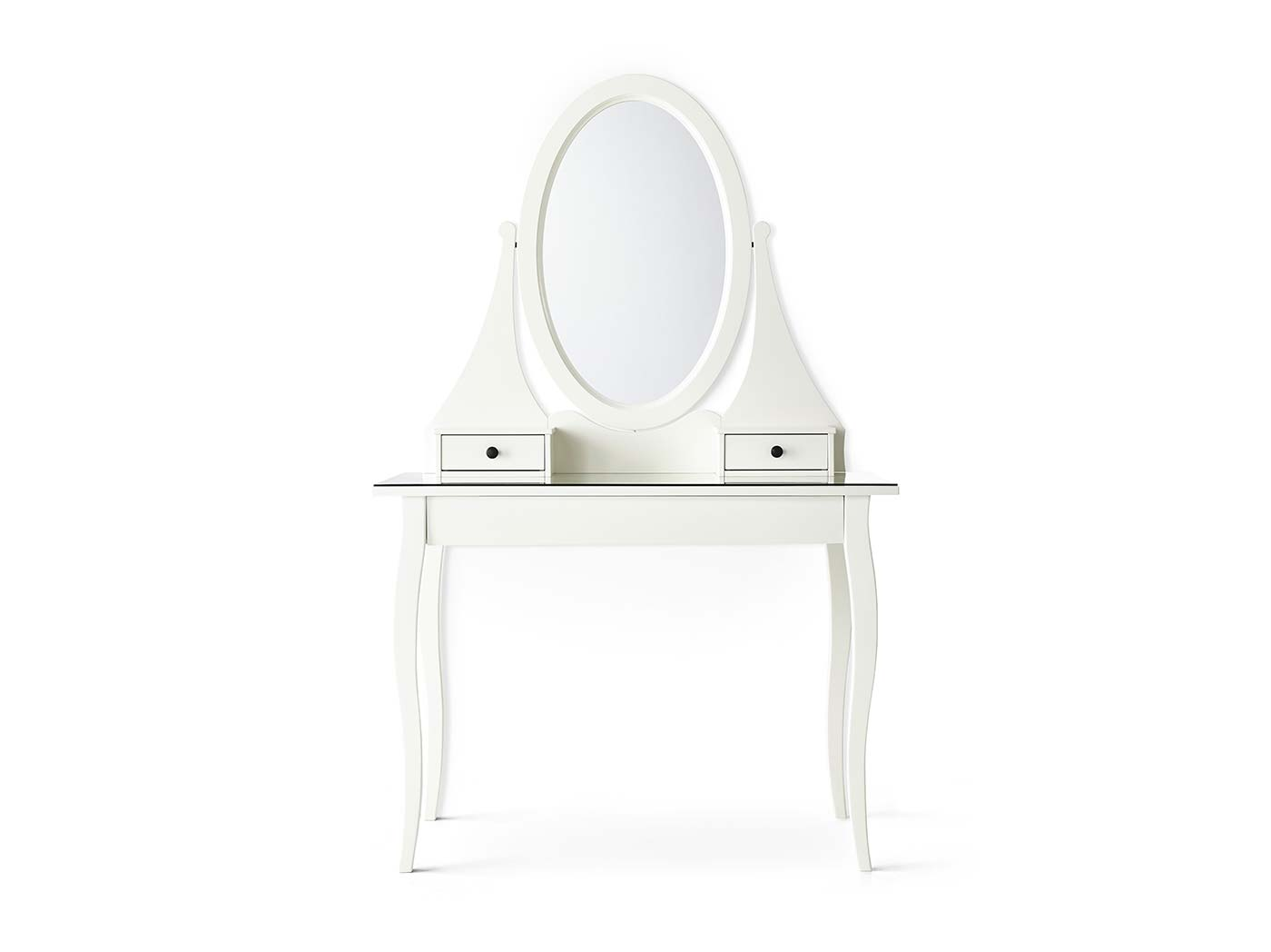 Dressing tables.