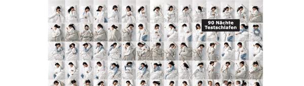 90 Nächte Testschlafen