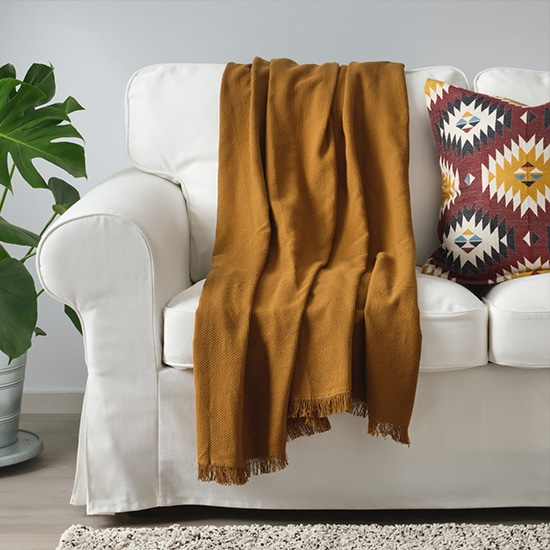 IKEA blankets and throws
