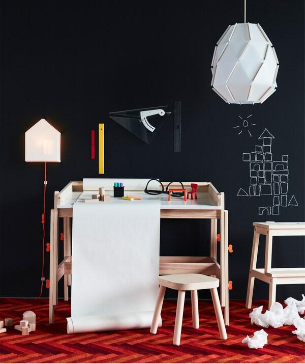 Schreibtisch Fur Das Kinderzimmer Ideen Ikea Deutschland