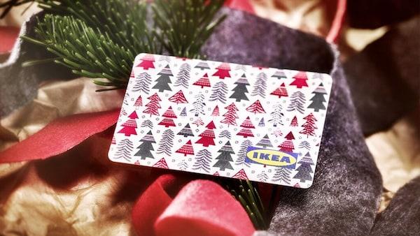 Geschenkkarte Gutschein für Weihnachten