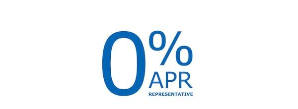 0% APR representative