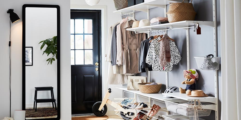ALGOT wardrobe system