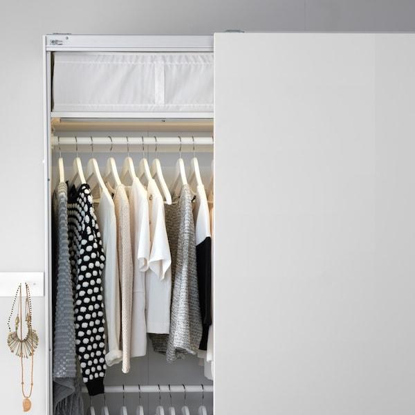 PAX wardrobe system.