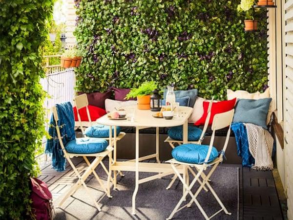 Terraza y jardín - Decoración terrazas - IKEA