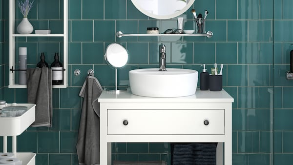 A bathroom planning tool.