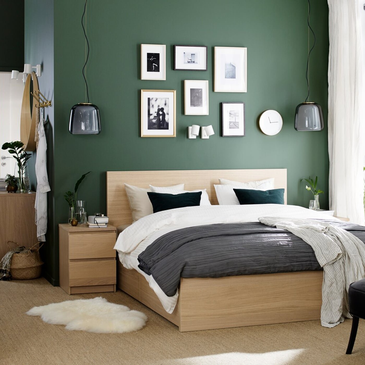 Ikea Schlafzimmer Bett Ideen Milt S Dekor