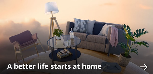 A better life starts at home.