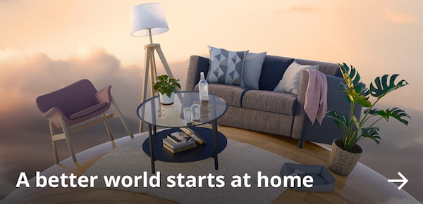 A better world starts at home.