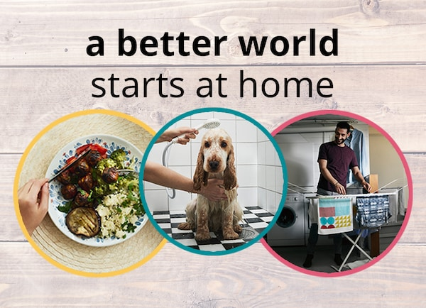 A better world starts at home campaign