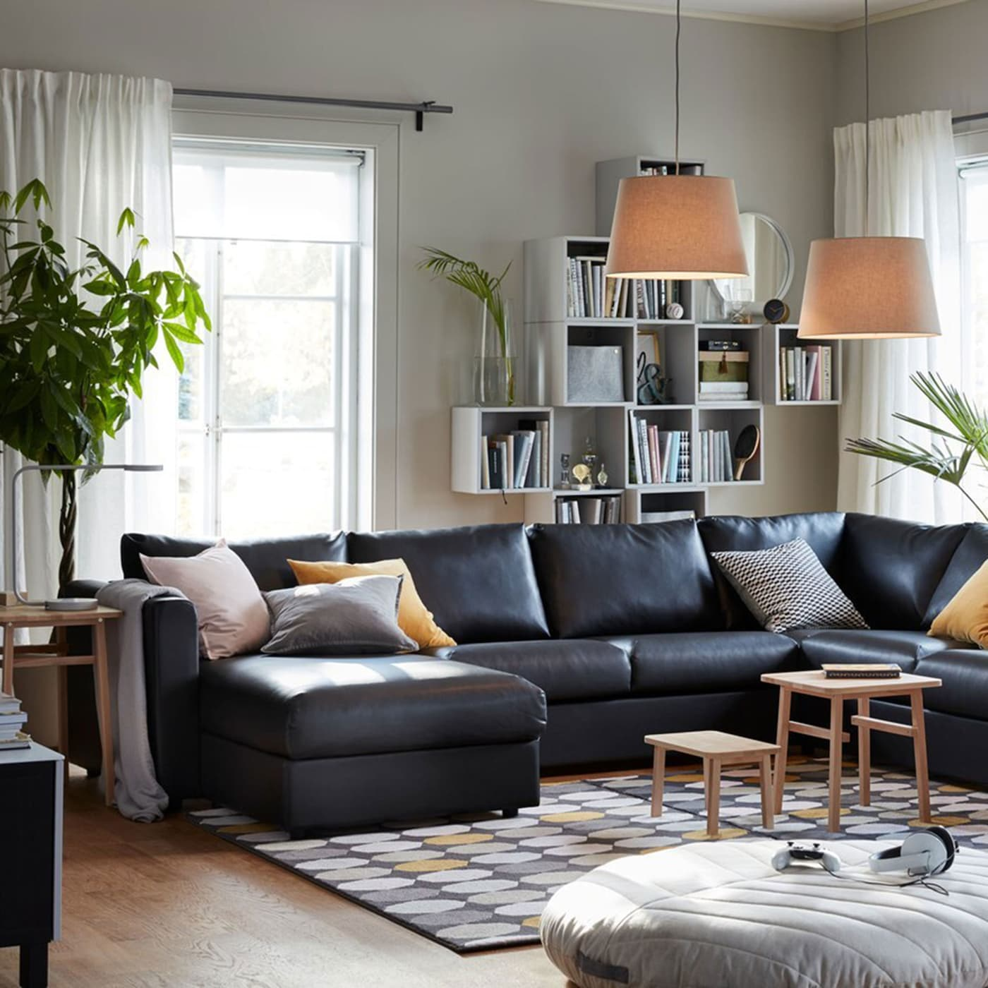 Living room inspiration for big families ikea ikea - Pictures of living room designs ...