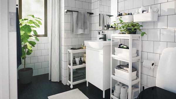 A brand new bathroom.