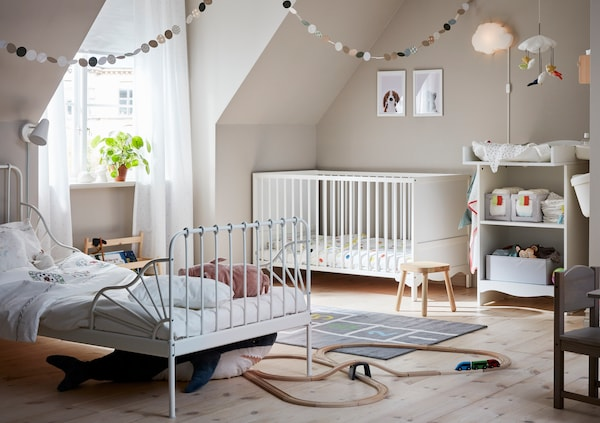A bright and cozy Children's room.