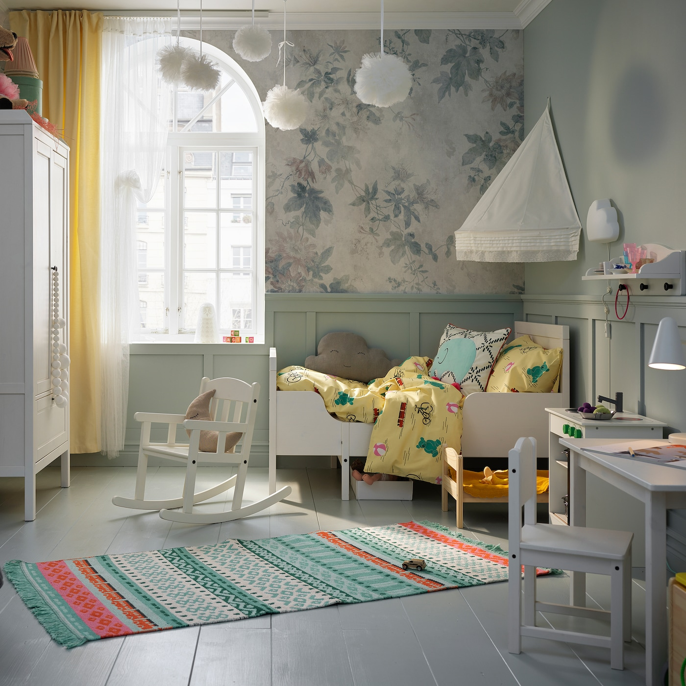 A Children S Room Fit For Fairy Tales And Relaxation Ikea