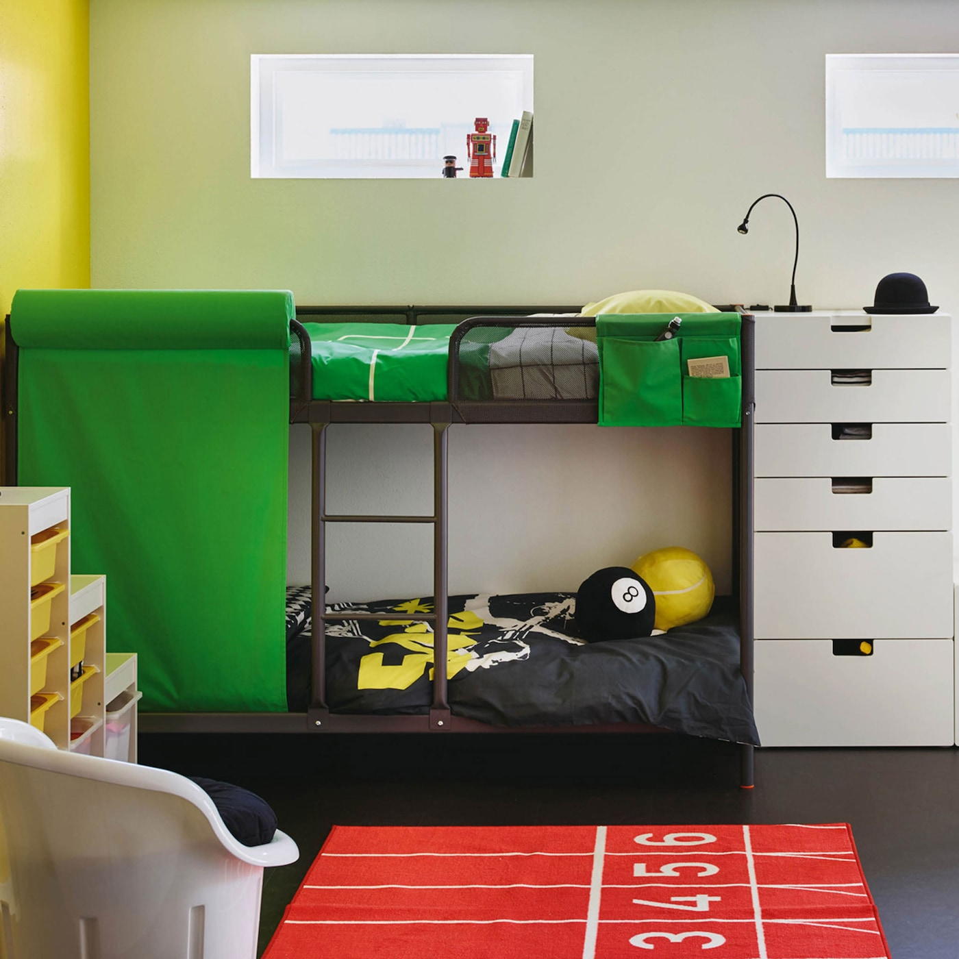 Space-saving bunk bed storage ideas - IKEA