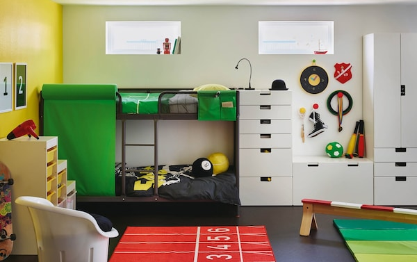 Stupendous Kids Bedroom Furniture Furnishing A Kids Room Ikea Ocoug Best Dining Table And Chair Ideas Images Ocougorg