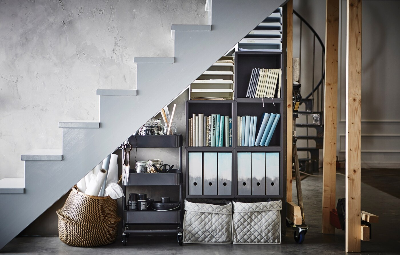 Awkward No More That Space Under The Stairs Ikea
