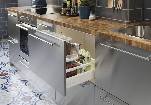 Varsta Kitchen Industrial Kitchen Ikea