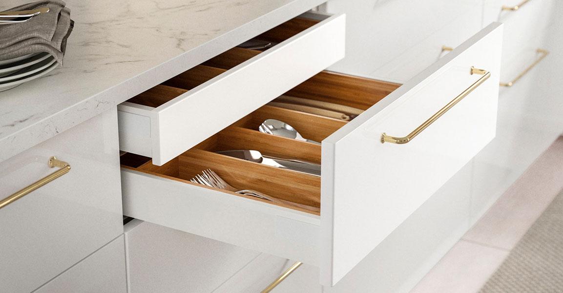 RINGHULT High Gloss White Kitchen IKEA