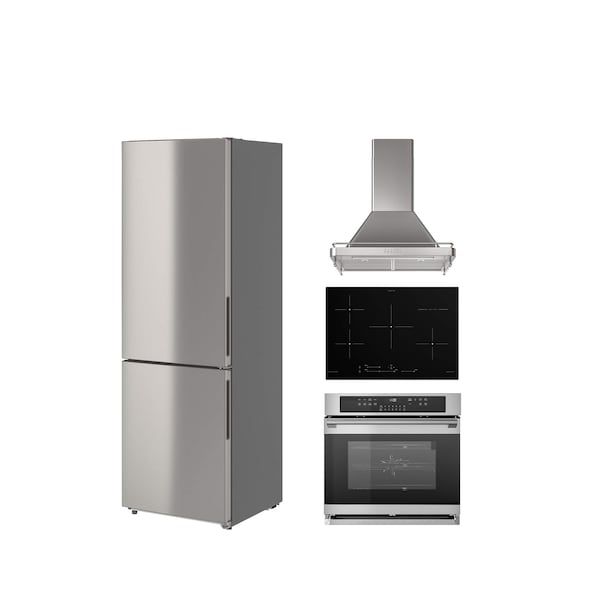 A collage of kitchen appliances with sustainability as a focus