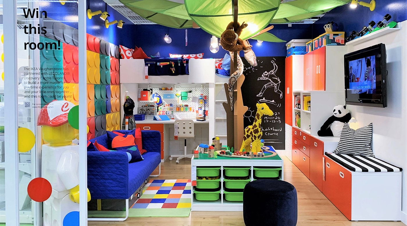 The ultimate kids room for playtime - IKEA CA