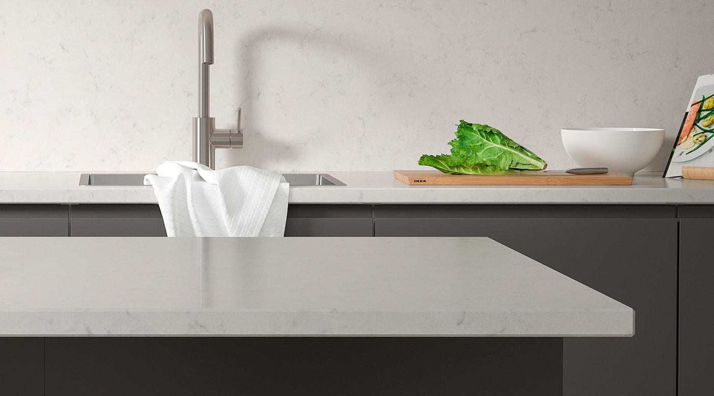 Comment Installer Un Comptoir De Cuisine comptoir sur mesure - ikea