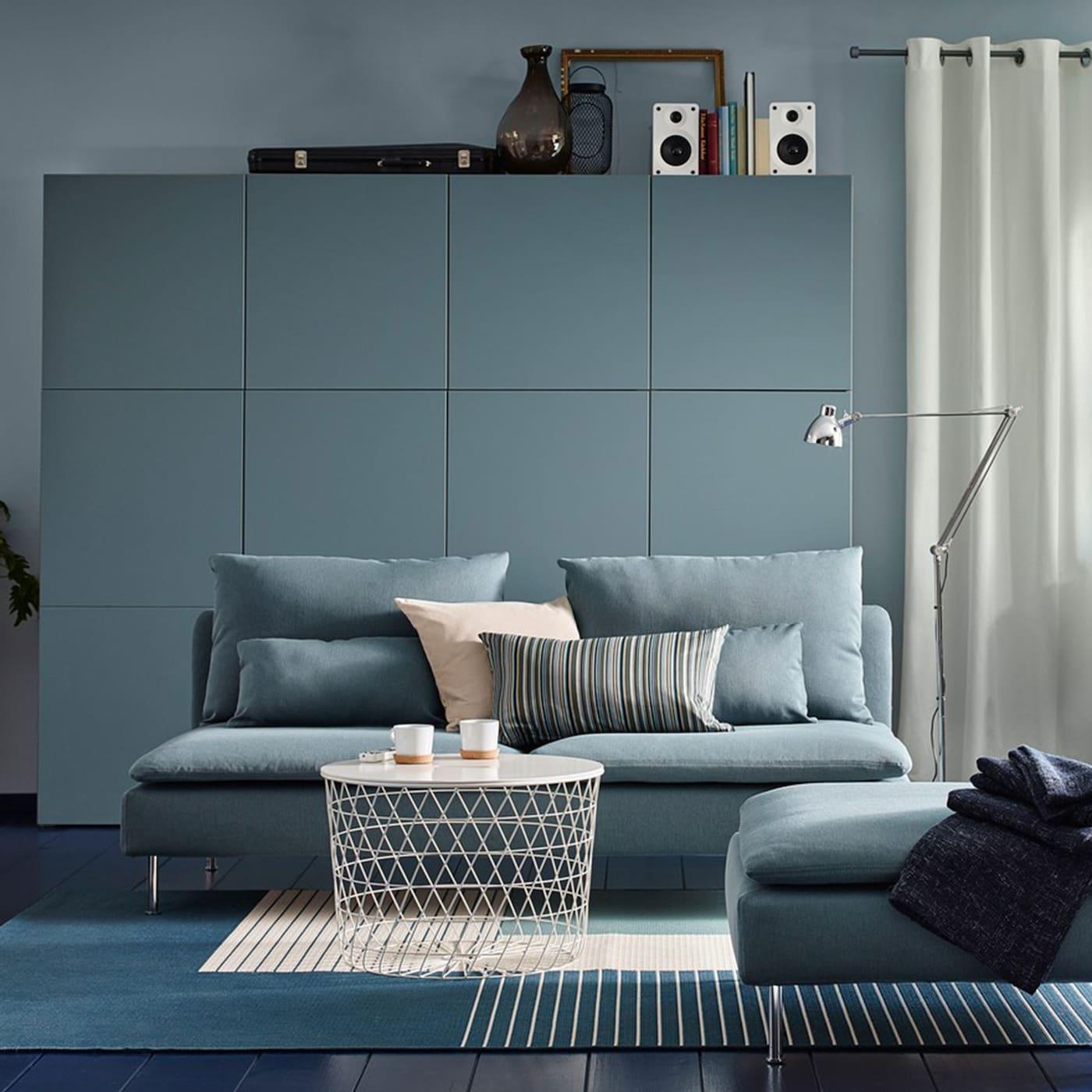 Monochrome Living Room With A Modern Mood Ikea