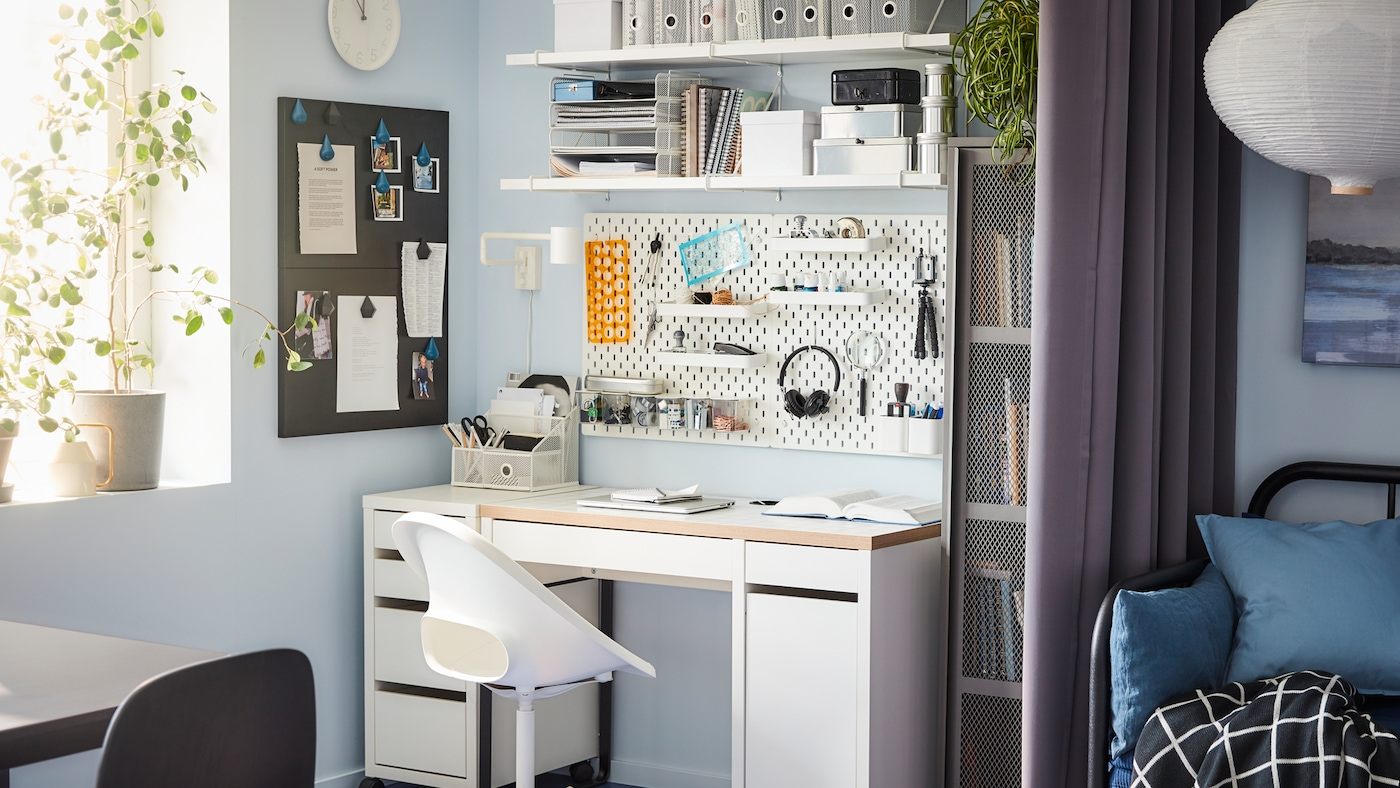 Tips for working from home & your home office - IKEA
