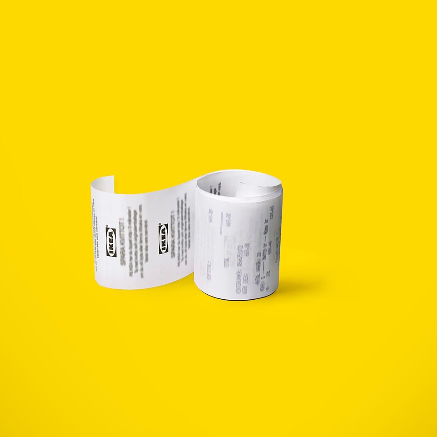 A digitális nyugta: minden, amit valaha az IKEA áruházakban vásároltál