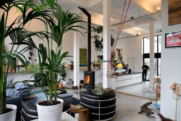 a dream home in an old milk factory