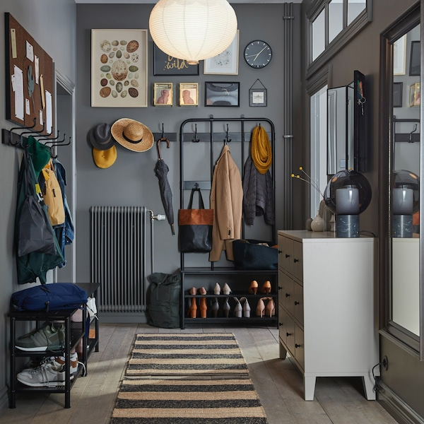 A gallery of tips about hallway furniture and more to help you improve your hallway.