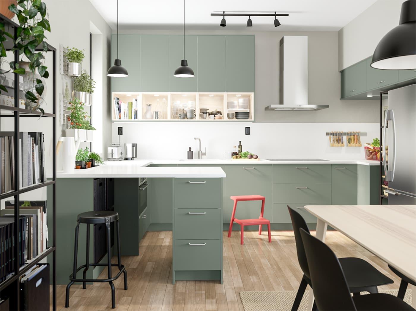 A Green And Environmentally Conscious Kitchen Ikea