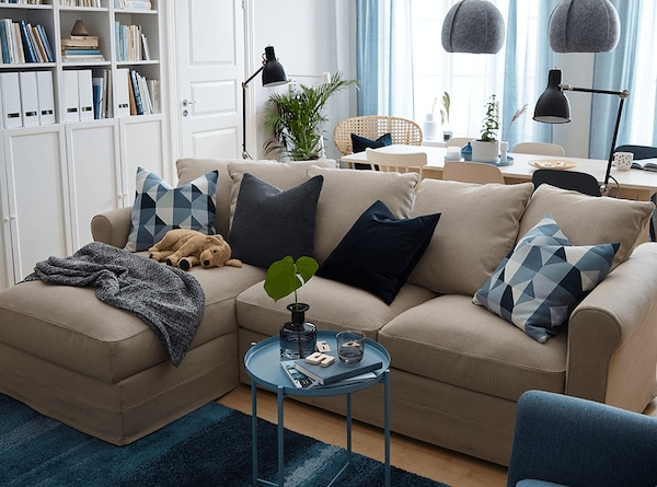 A GRONLID sofa in a customizable combination