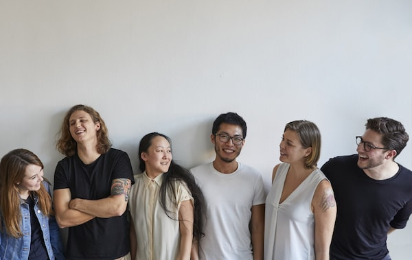 A group portrait of Nest residents.