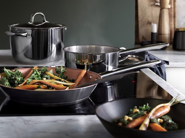A guide to buying pots and pans.