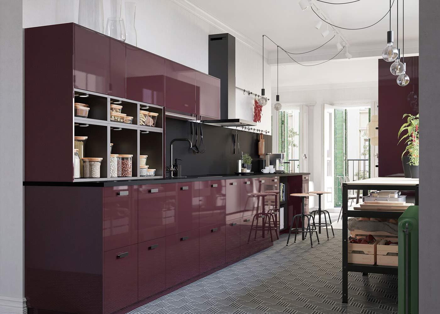 Ausdrucksstarke Küche für Minimalisten - IKEA Österreich