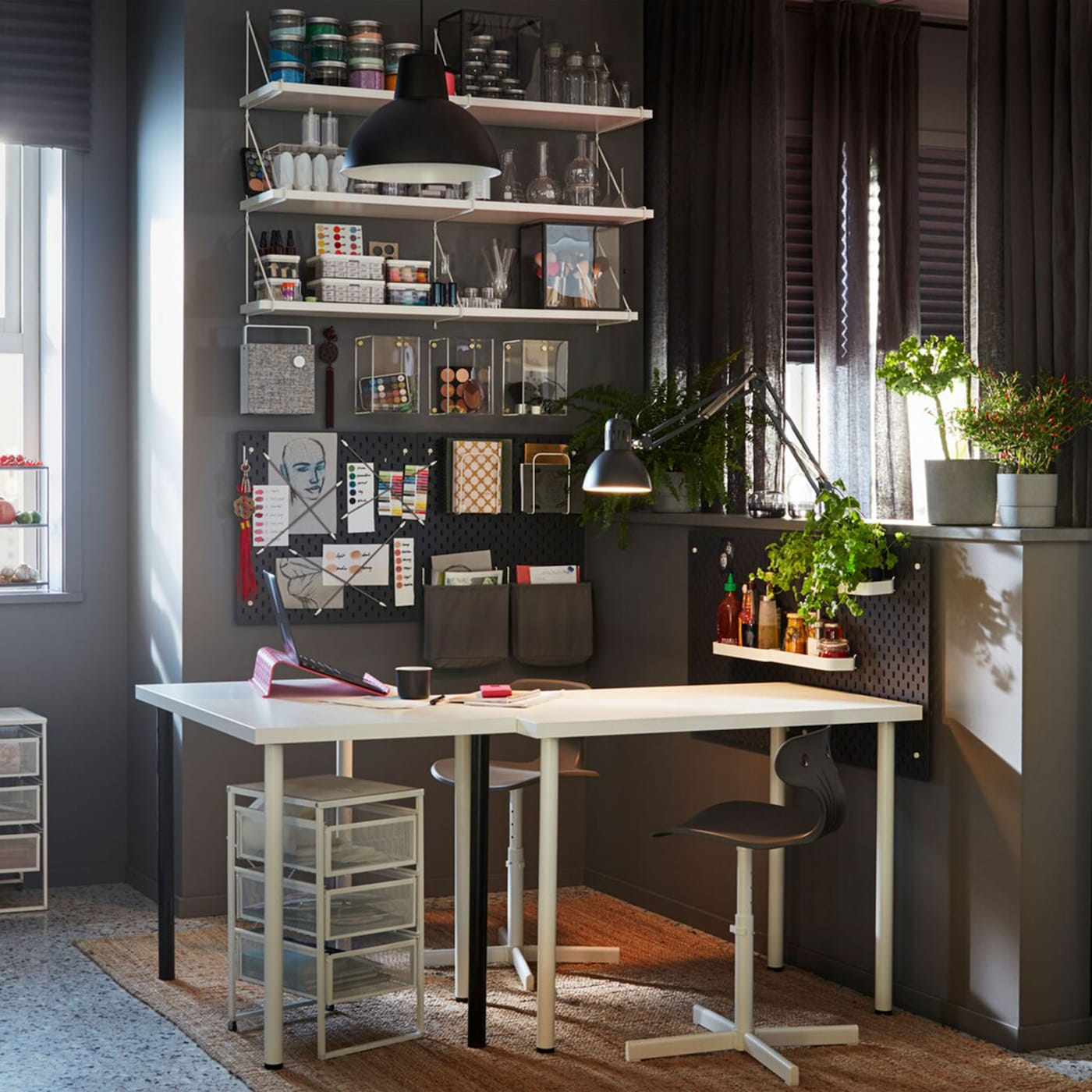 Ikea Kids Study Room: A Study Space During The Day, A Dining Room At Night