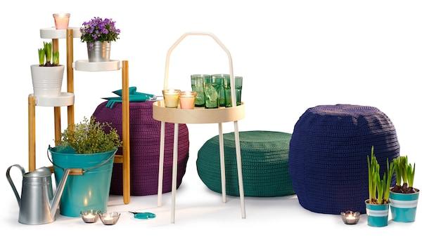 A képen az új IKEA termékek kollázs látható.