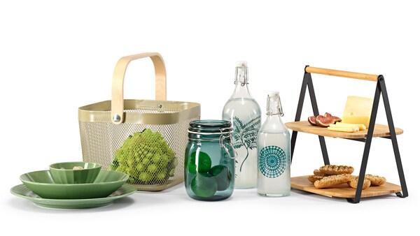 A képen az új IKEA termékek kollázsa látható.