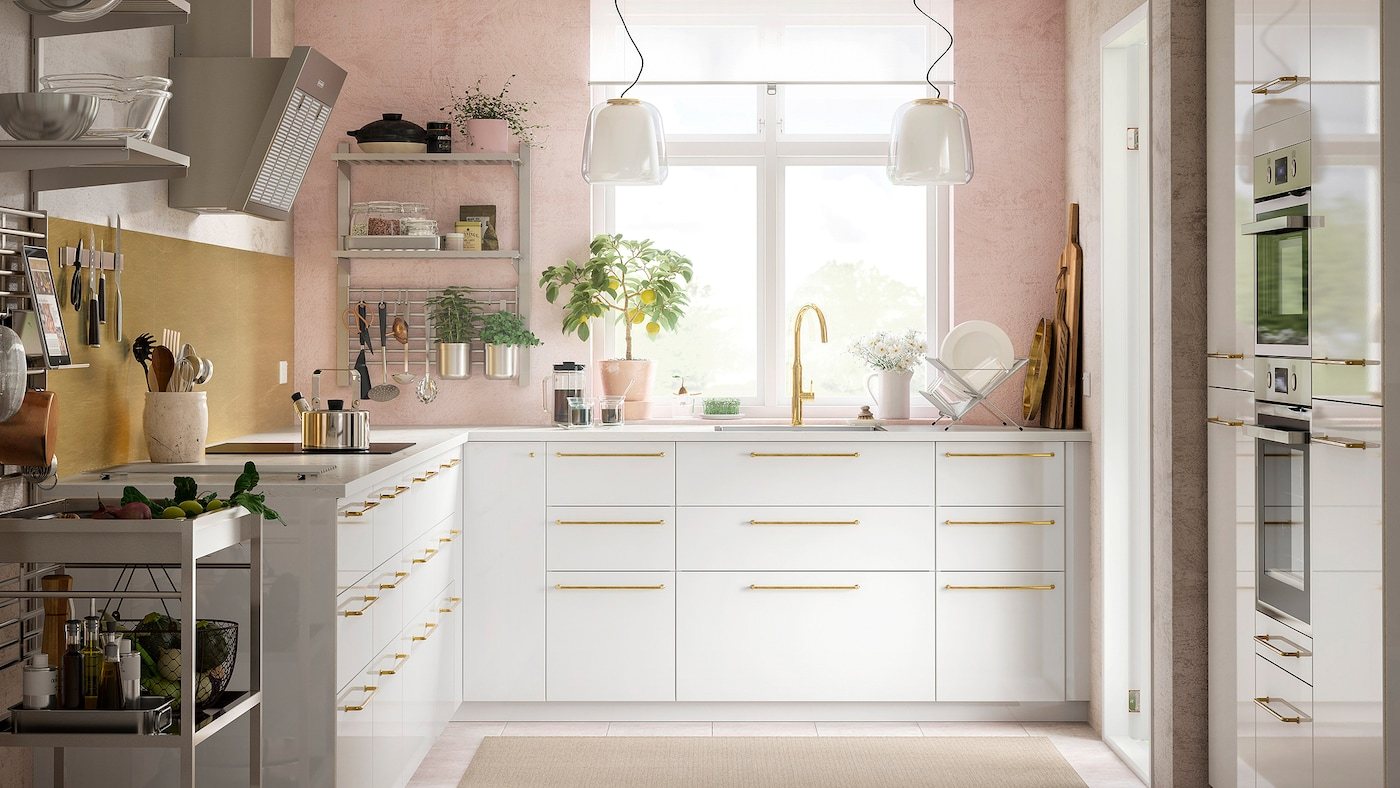 A Smart Open Storage Kitchen Ikea