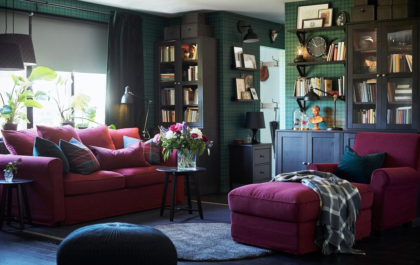 cosy sofa ideas for your living room  ikea  ikea