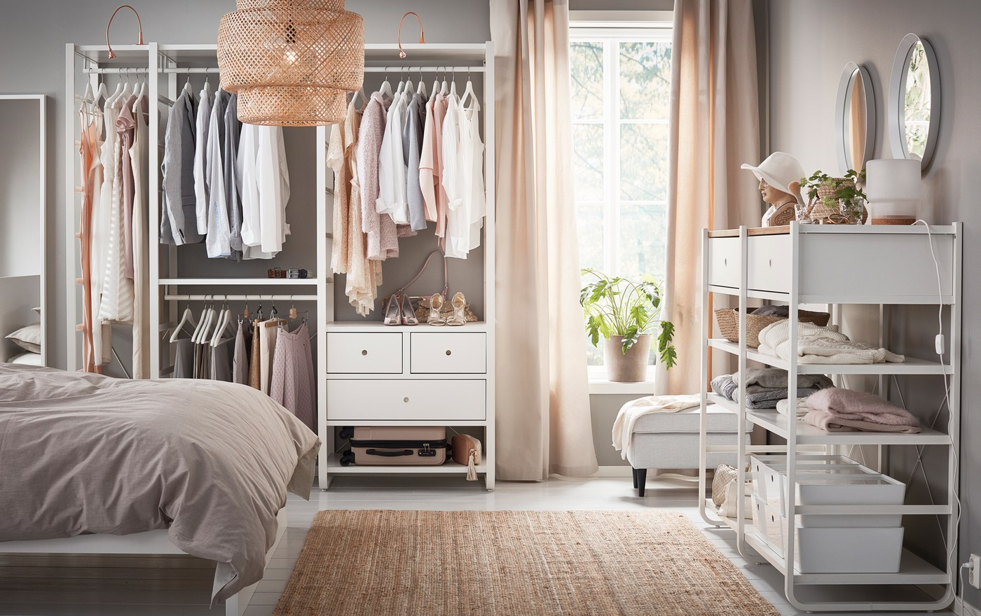 Exceptionnel Your Open Wardrobe, Made Easy And Elegant   IKEA
