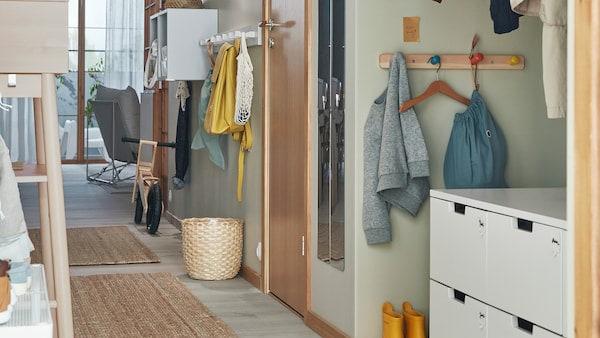 FlurDiele 'Welcome' … | Ikea lagerung, Ikea diy, Kleine