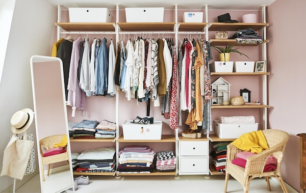 311008c56c624 Design an open wardrobe to perfectly fit your needs - IKEA