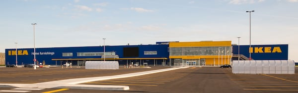 A picture of the IKEA Halifax store.
